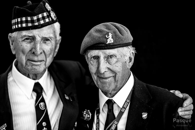 Ron Minton et Robert Laverty 89 ans